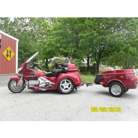 2004 Honda Goldwing Trike & Trailer $19,900.00