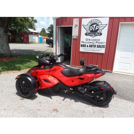 2012 Can Am Spyder RSS SE5 $9,700.00